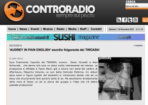 twoas4 intervista controradio