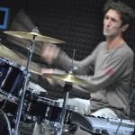 alan suona batteria in Sala Musicale - foto di Elena Ilie